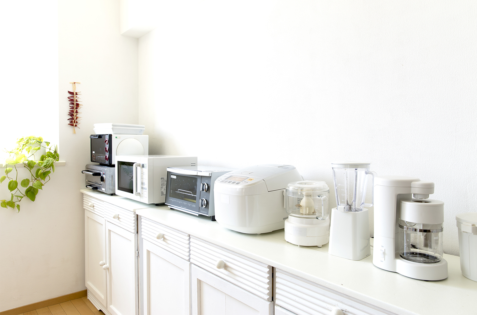 使わない家電は預かりサービスを使ってすっきり暮す