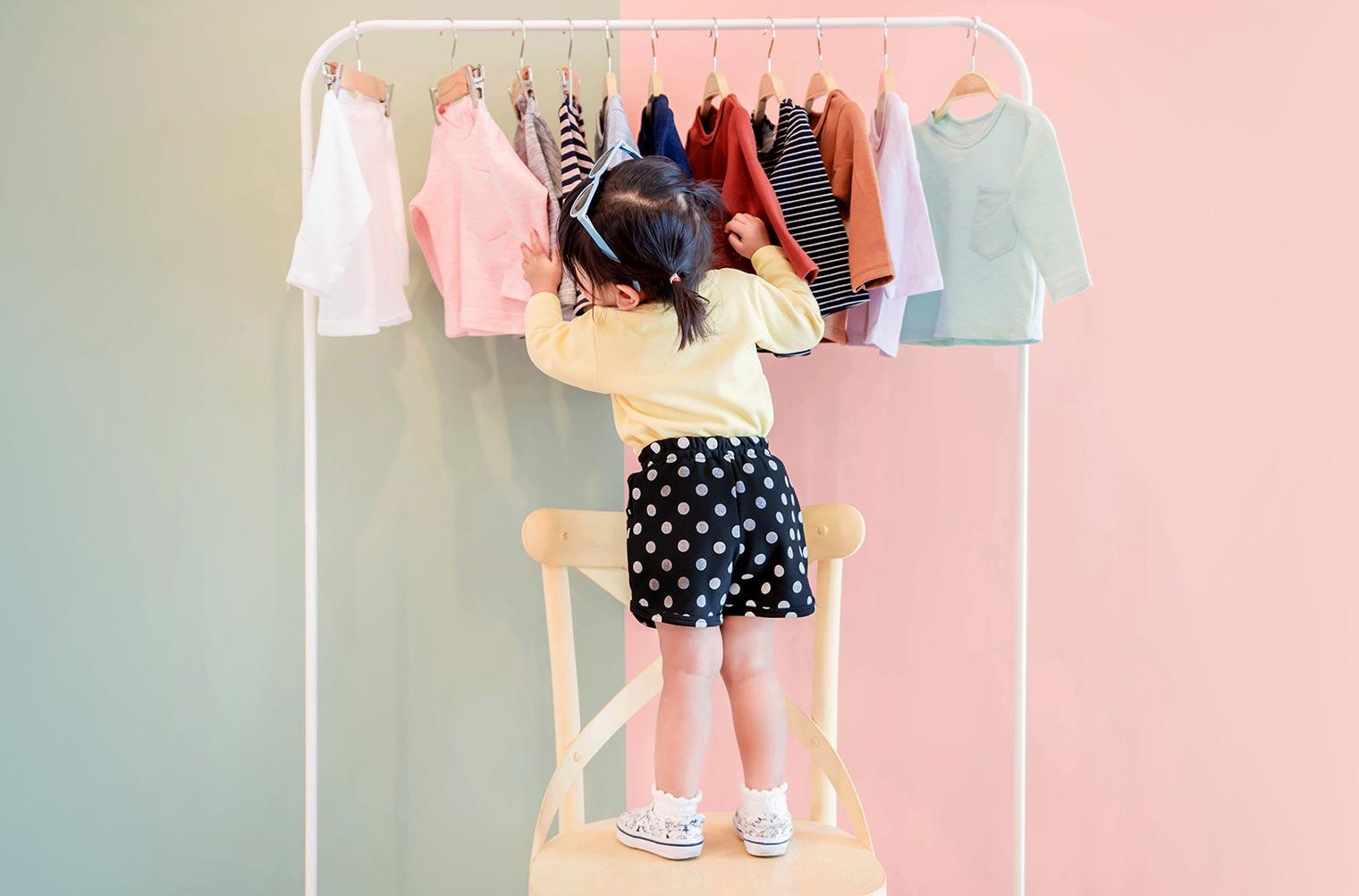 子供服をトランクルームに預けてスッキリした部屋づくりを