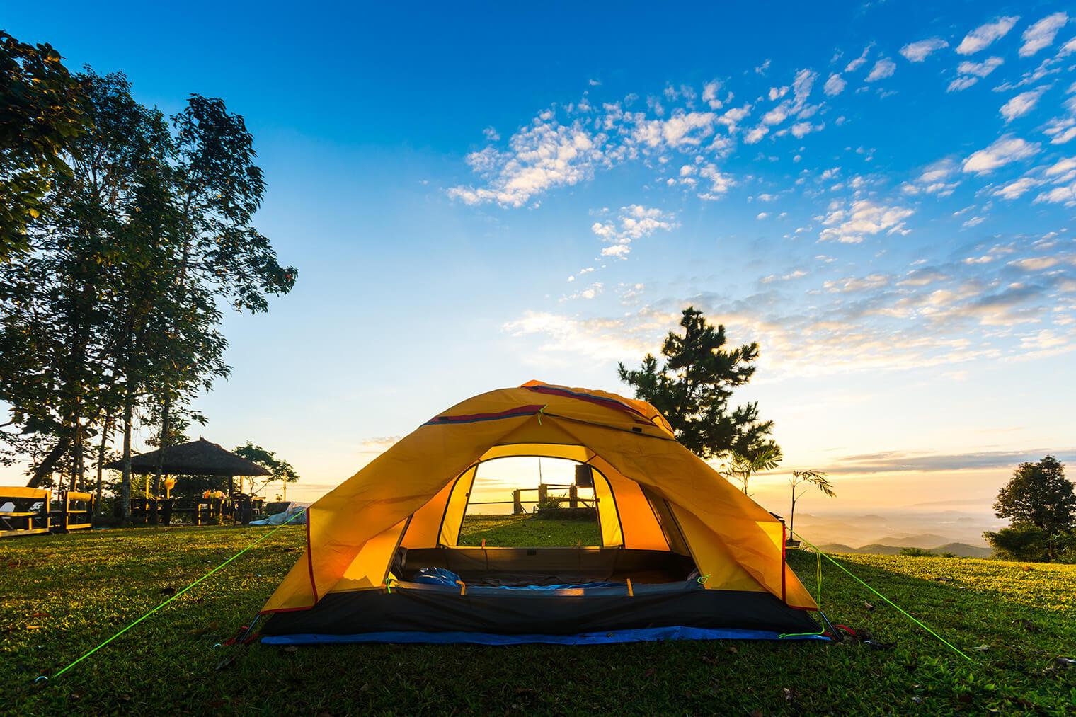 使った後のテントの保管方法と収納場所に悩む!次も使えるために