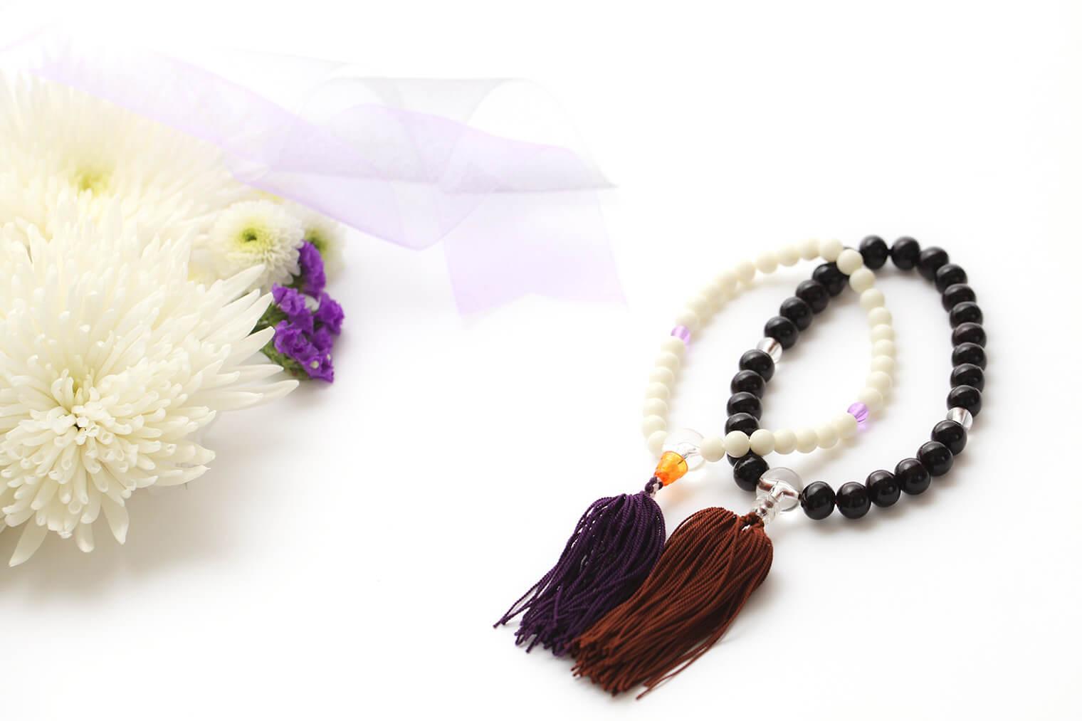 天然素材で作られている数珠の保管には注意が必要!数珠の収納方法